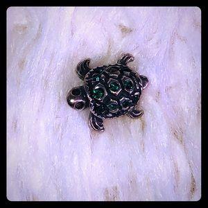 Pandora bracelet compatible turtle charm